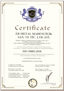 ISO 10002 2018