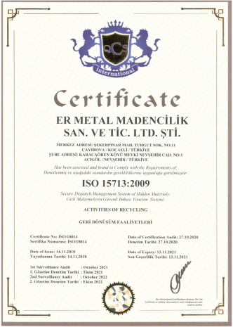 ISO 15713 2009