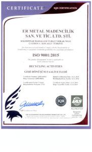 KOCAELI ISO 9001